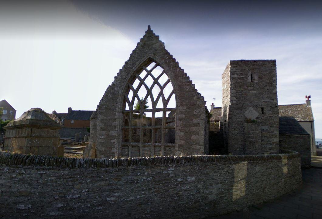 Thurso's Old St Peter's Church.