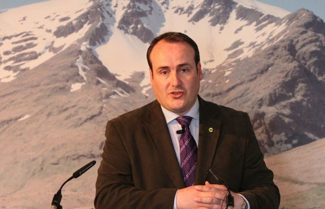 Paul Wheelhouse, Scottish energy minister.