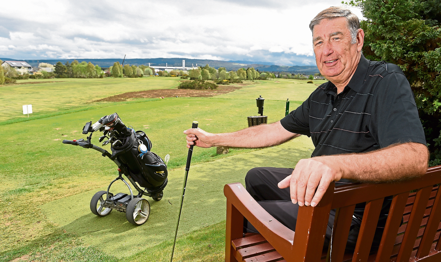 Hamish Milne, of Muir of Ord Golf Club, which hosted the Scottish Left-handed Championships in June. Picture by Sandy McCook