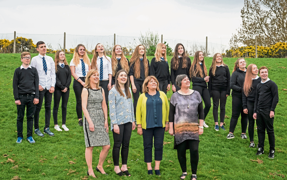 Pupils from Lossiemouth High School have been chosen as the winners of the international competition Never Such Innocence