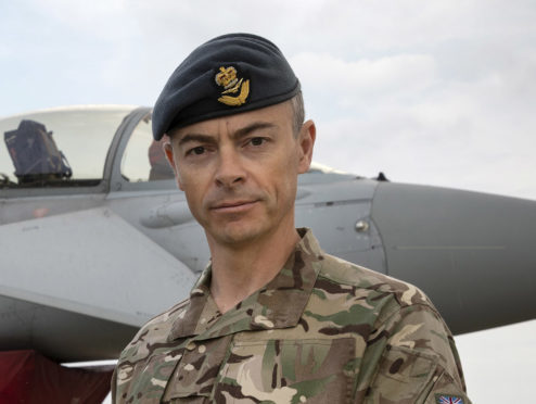 Wing Commander Chris Ball is the officer commanding 135 Expeditionary Air Wing