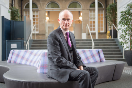 Moray College UHI principal David Patterson.