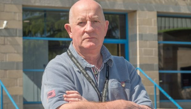 Speyside Glenlivet councillor Derek Ross.