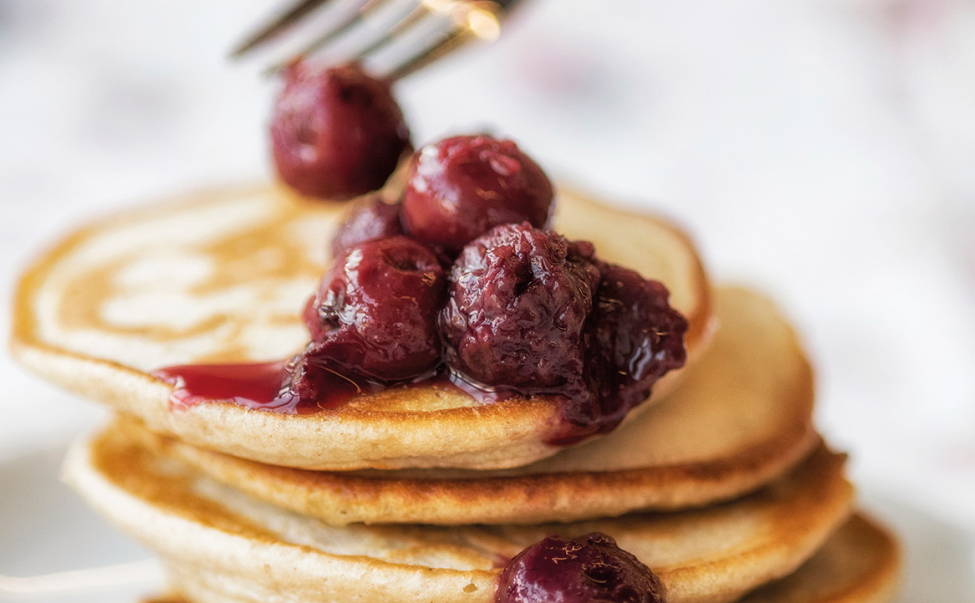 The fava bean pancakes created by the Rowett Institute team for a study in 2018
