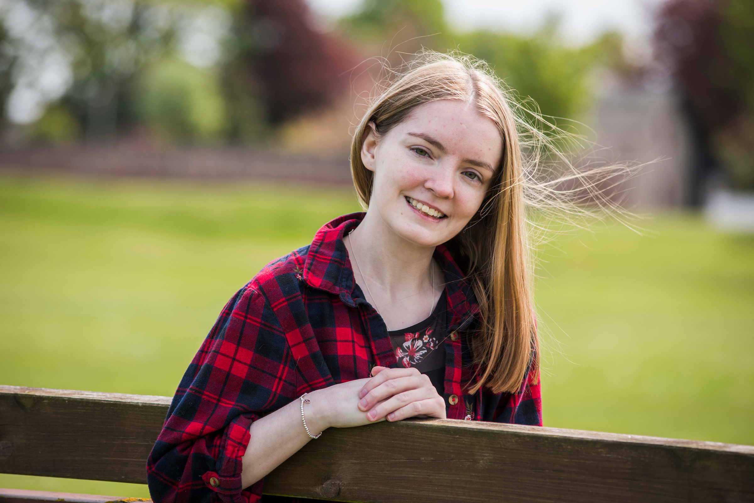 Hollie Simpson, 22, suffered a stroke in 2016.