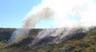 Fire crews were called to the gorse fire near Hopeman.