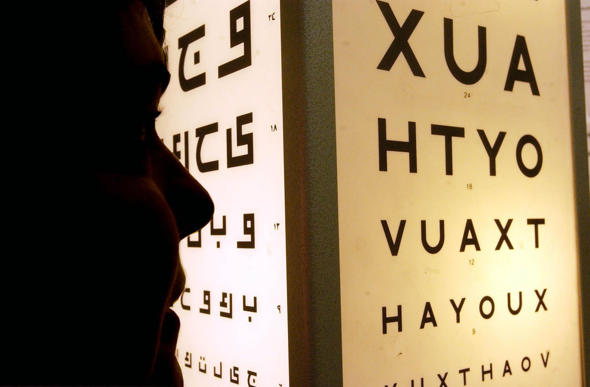 More than 200 people in the UK are diagnosed with a macular disease every day. Picture by Chris Young/ PA Wire