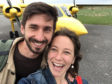 Hebridean Air Services (HAS) put on an extra service so the couple, Nicola Gurney and Mathieu Willcocks, both 29, could reach the mainland for their flight