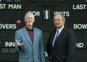 Former Ireland cricket internationals Doug Goodwin and Alec O'Riordan. Picture by ©INPHO/Andrew Paton