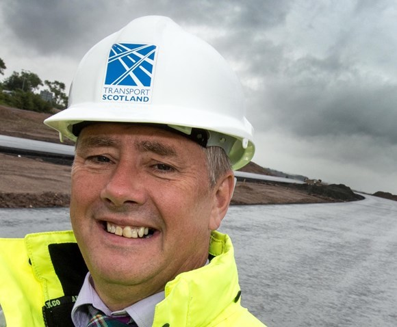Keith Brown, Cabinet Secretary for Infrastructure.