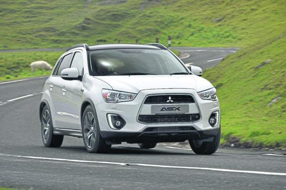 Mitsubishi road test