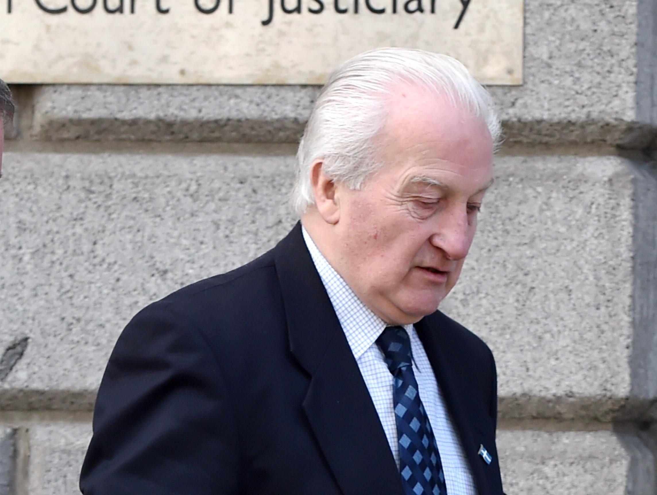 Former Shetland councillor, Robert Henderson, pictured outside Aberdeen High Court.