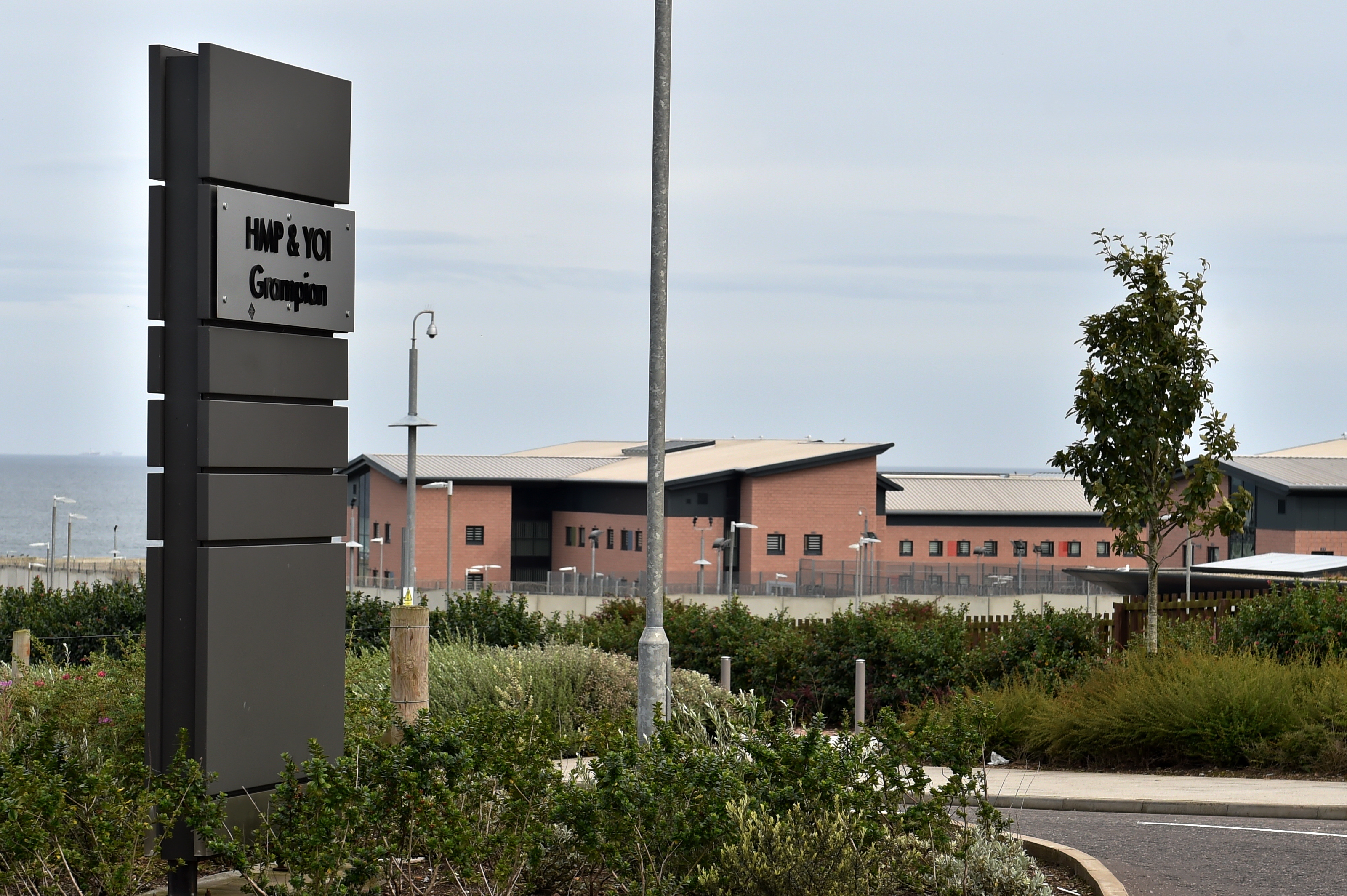 The HMP & YOI Grampian prison in Peterhead  Picture by KENNY ELRICK     29/08/2017