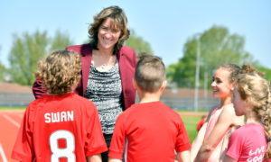 Aberdeen Youth Games Ambassador Dame Katherine Grainger