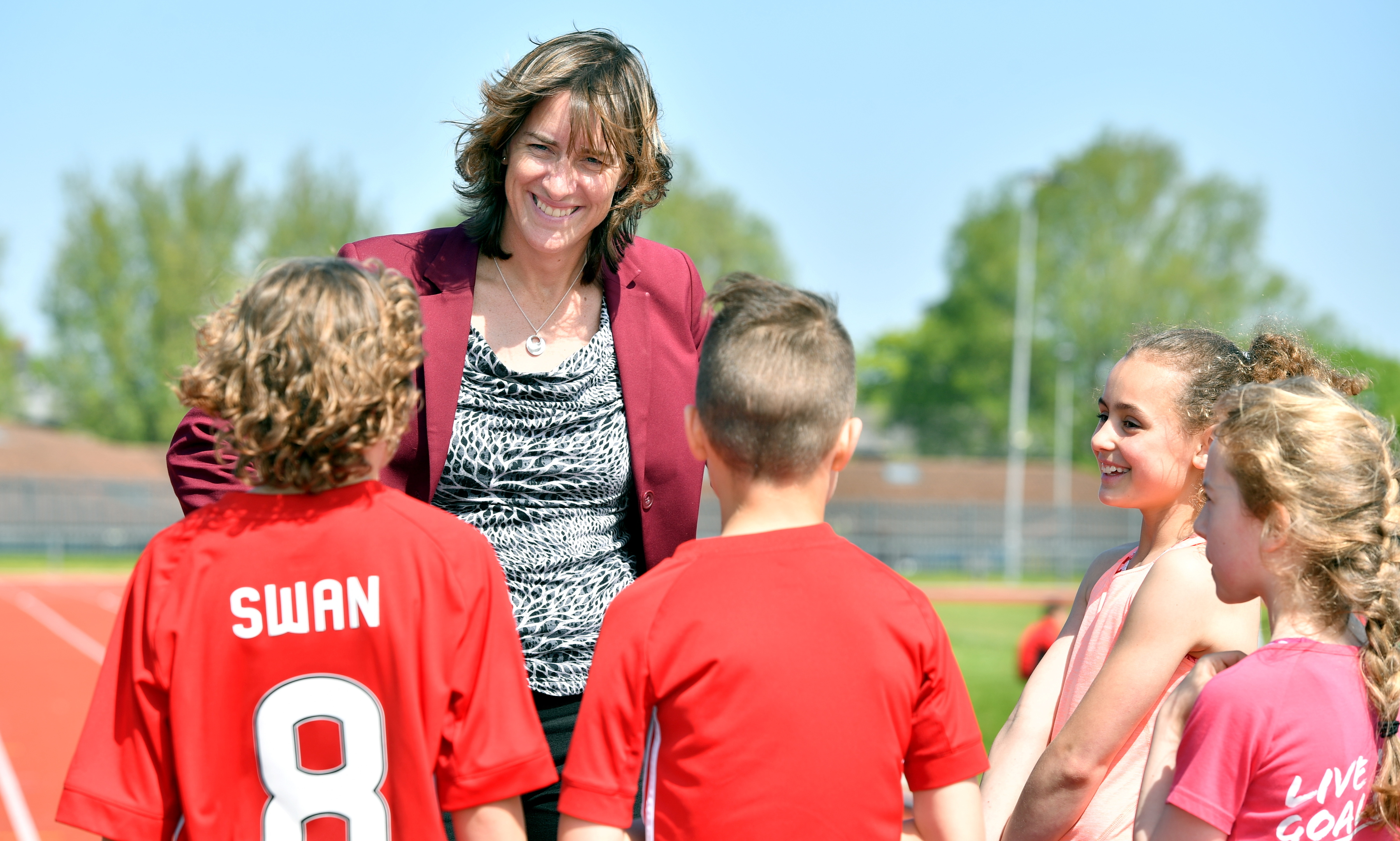 Dame Katherine Grainger remains an inspiration for the next generation.