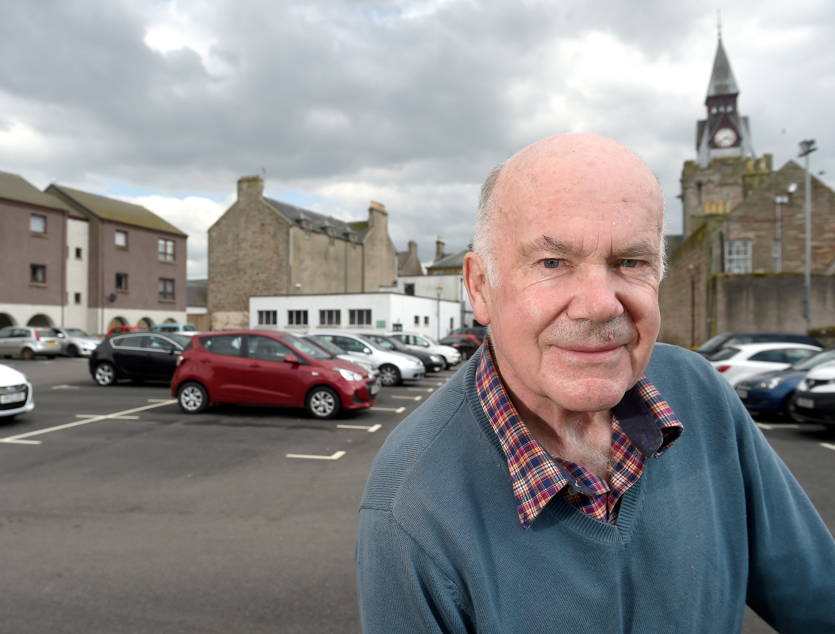 Nairn Suburban and West Community Council chairman, Richard Youngson, is particularly concerned with the lack of community consultation over the charges