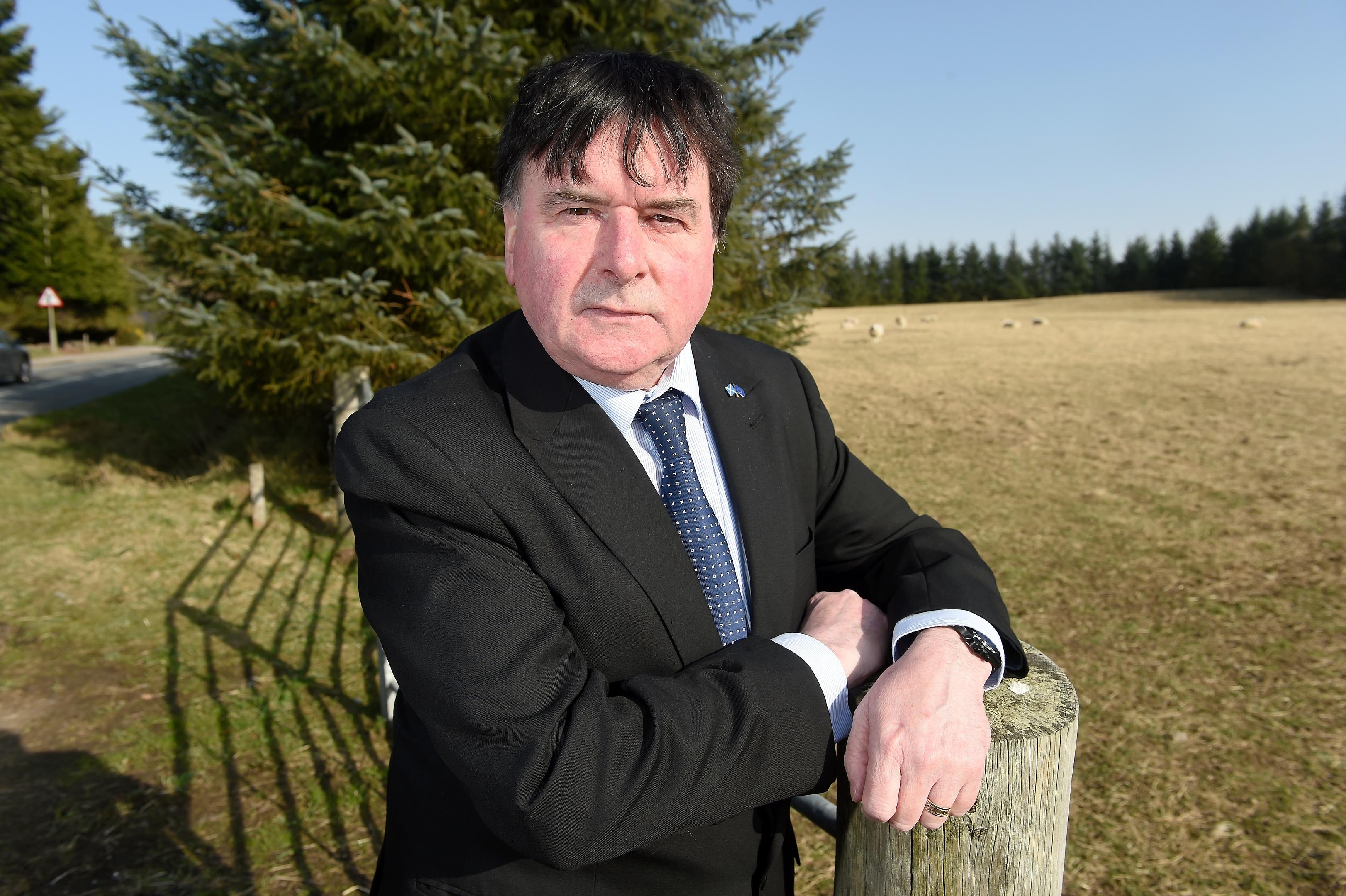 Inverness councillor Ken Gowans Picture by Sandy McCook.