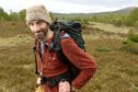 Will Boyd-Wallis of Nethy Bridge who sets off this morning on a three week walk around the Gairngorms.