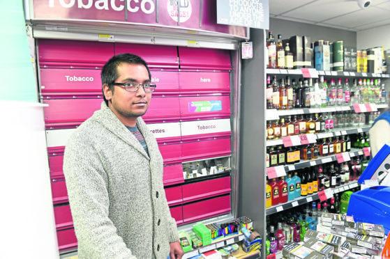 Rajkumar Dhanaraj, 31, Drummond Stores shop owner on Culduthel Road, Inverness.