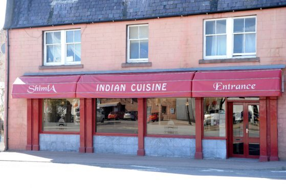 Shimla Indian Restaurant in Beauly