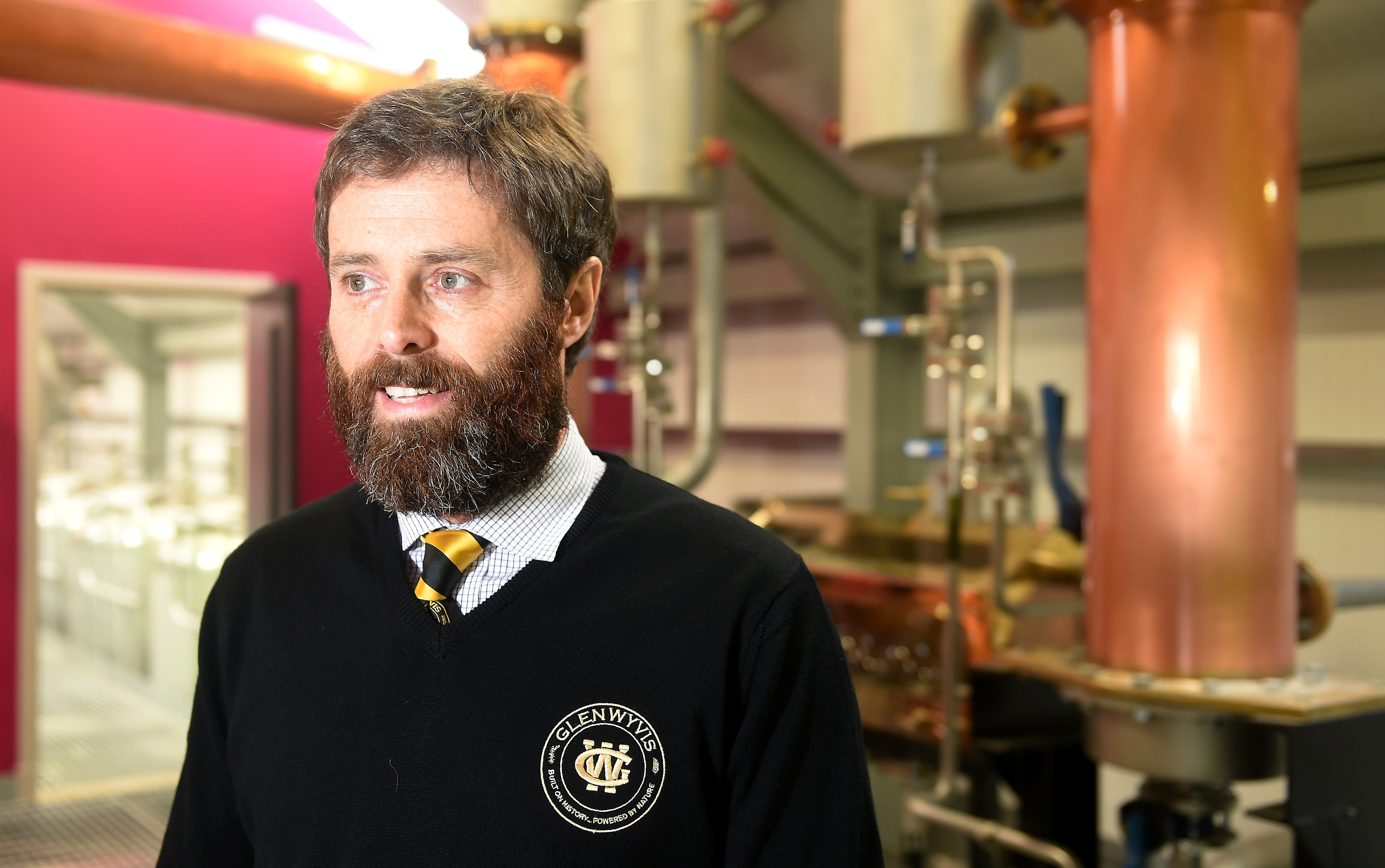 John McKenzie, managing director and founder of the distillery. Picture by Sandy McCook.