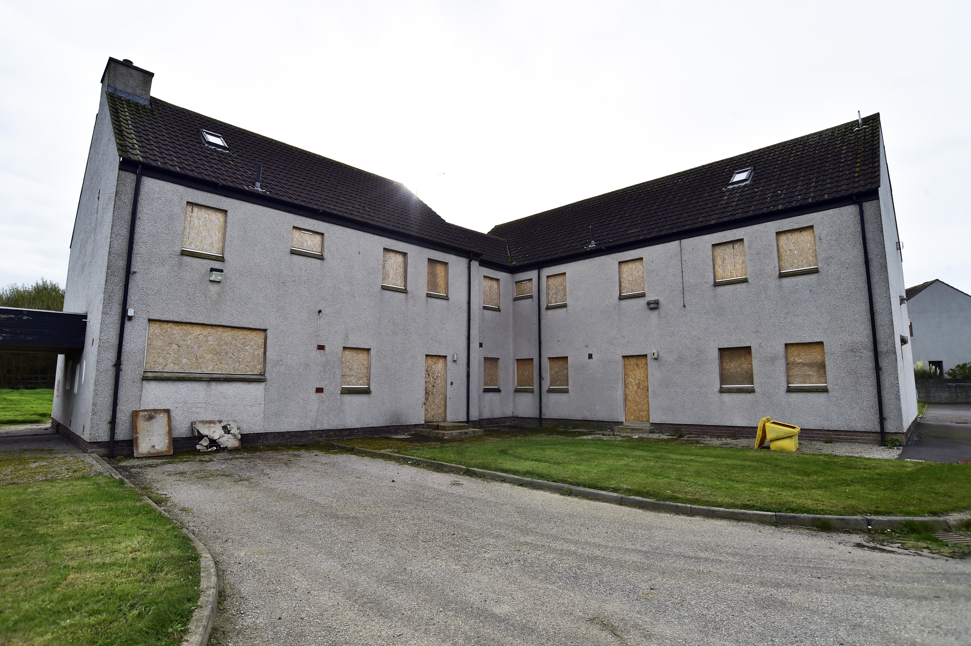 The former children's home at Scalloway Park, in Fraserburgh.