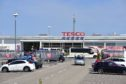 The Tesco supermarket in Fraserburgh where the alleged incident happened.