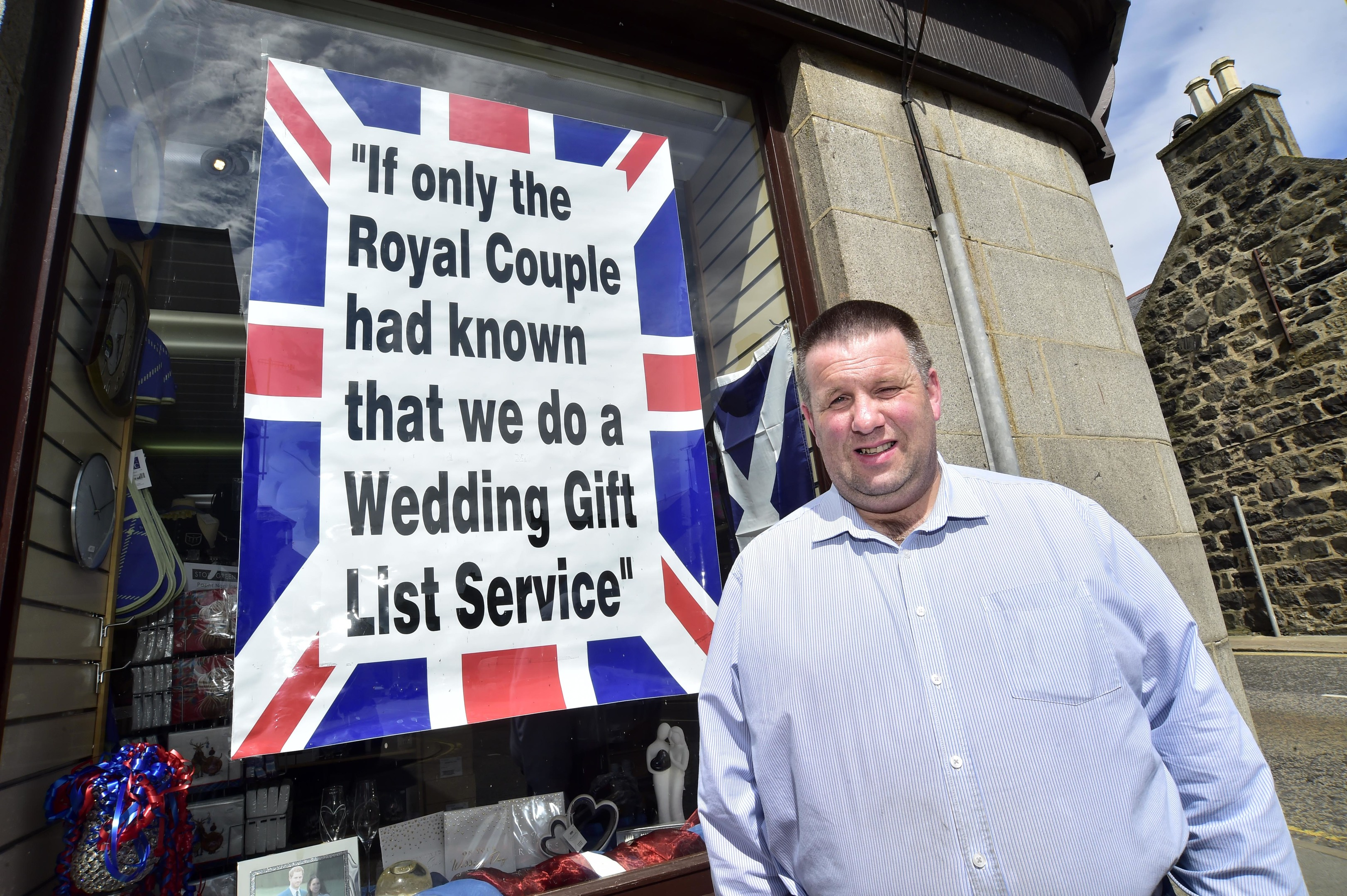 Brian Bruce from Homestyle is getting into the royal wedding spirit