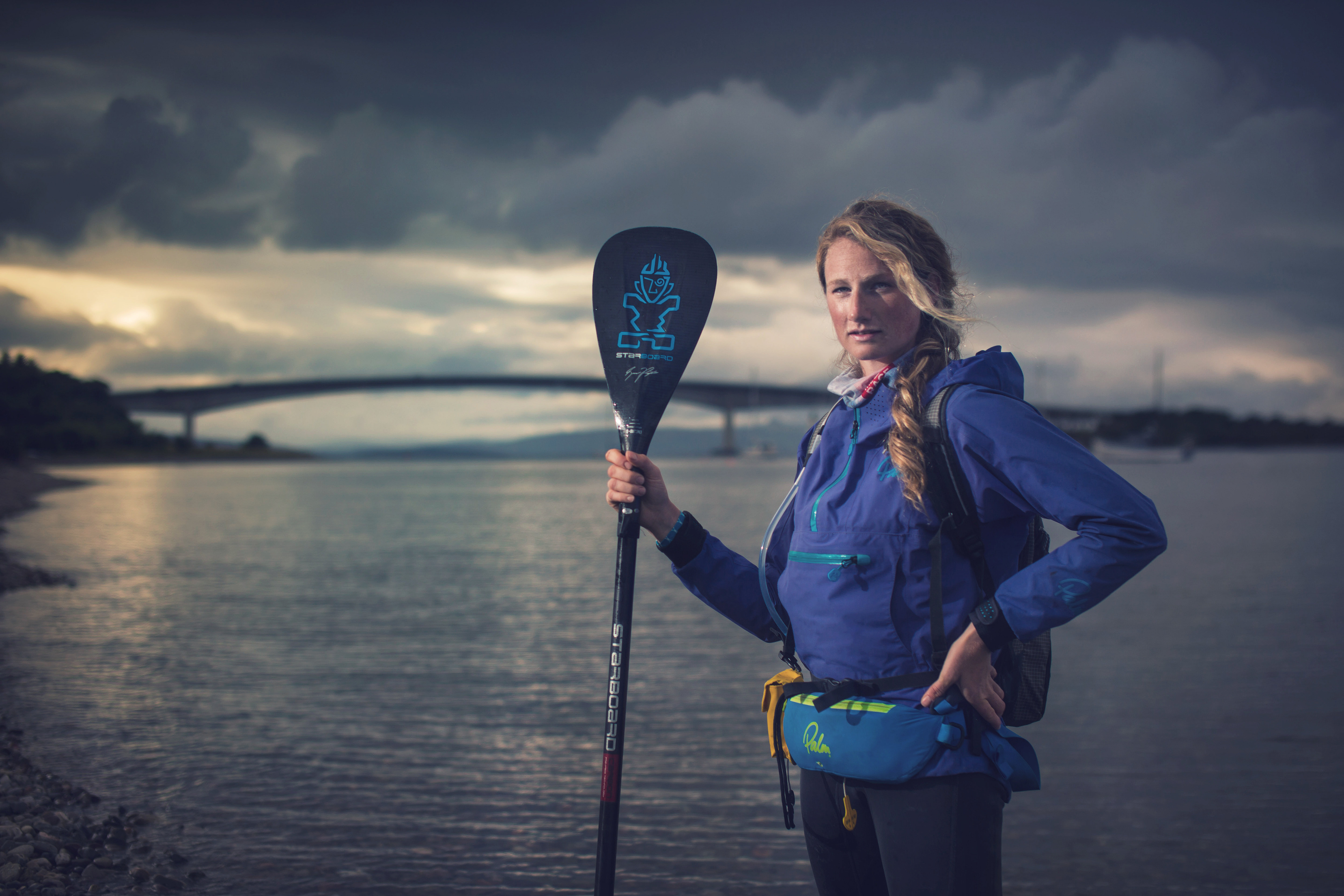 Environmentalist Cal Major is set to be the first person to paddleboard from one end of Britain to the other
