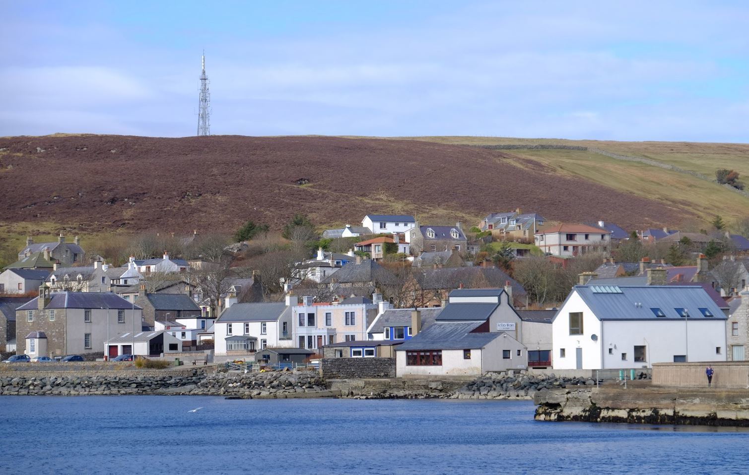 The Re-create Scalloway project will see the image of Scalloway change