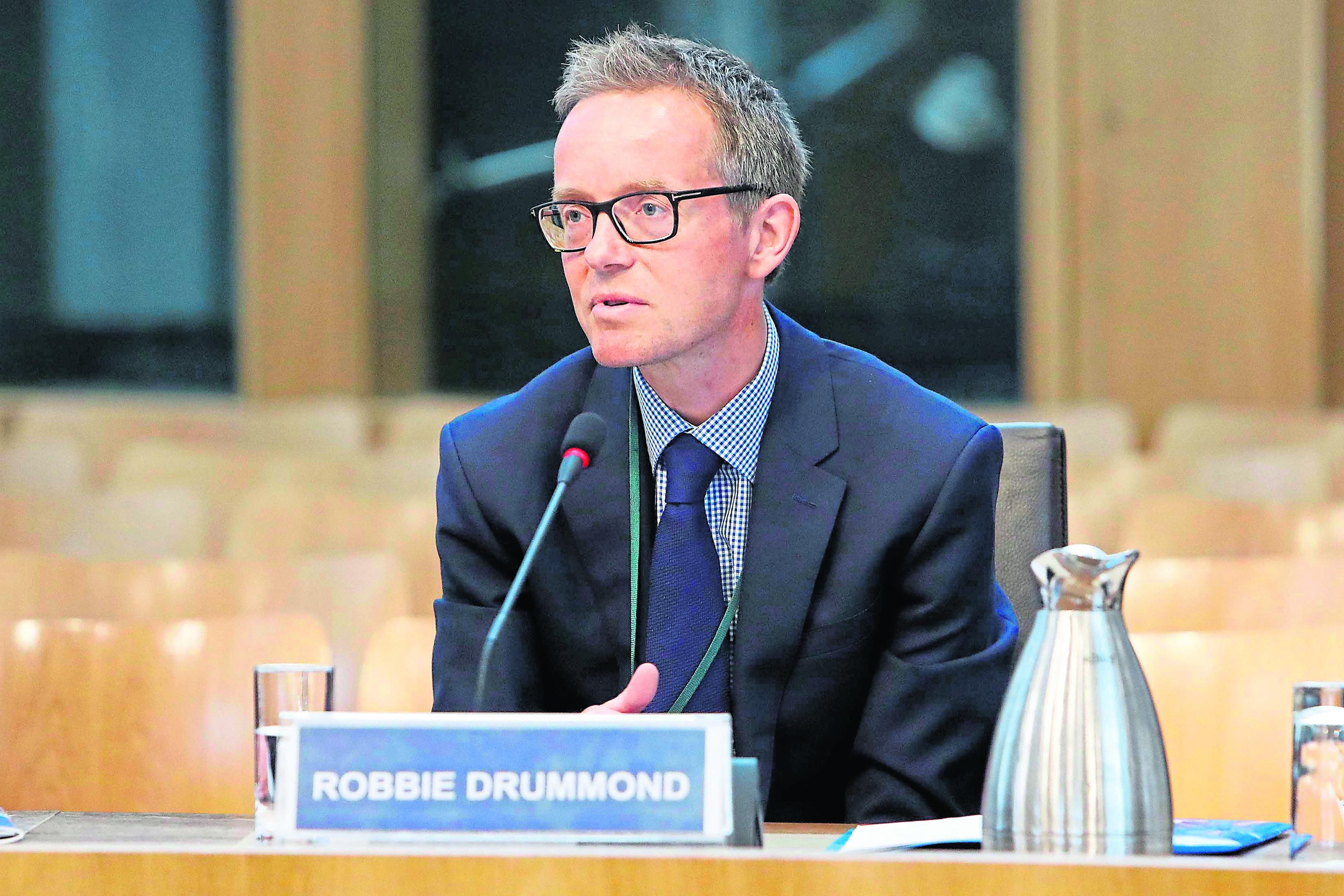 Calmac Robbie Drummond, Managing Director CalMac Ferries Limited .