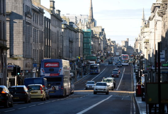Union Street, Aberdeen.