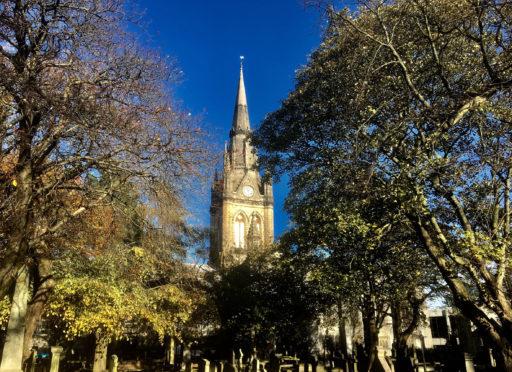 Kirk of St Nicholas. Picture by Tom Watt