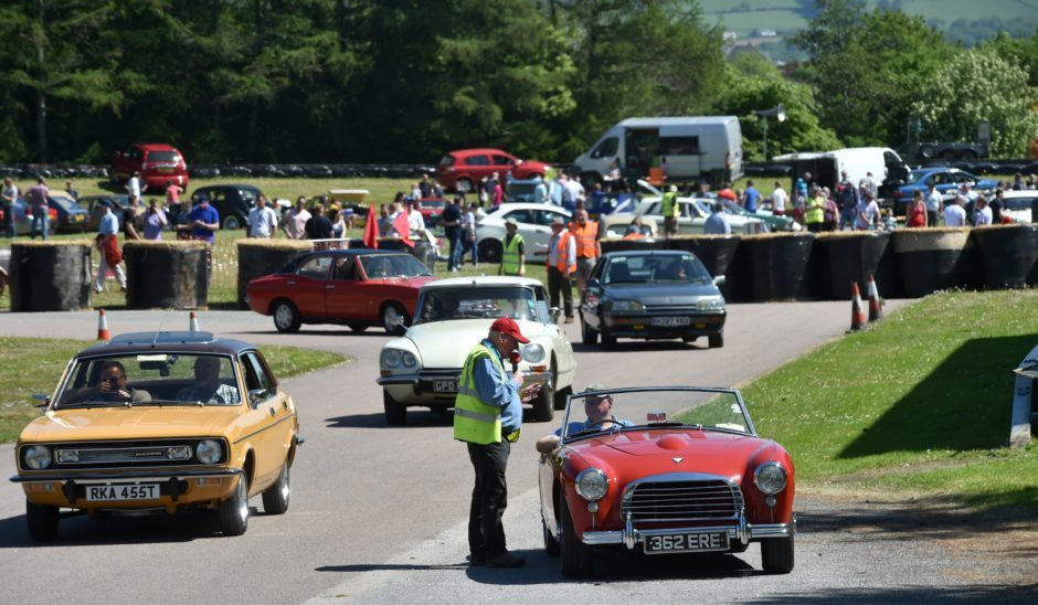 Grampian Transport Museum hosted its event which celebrates mass produced cars of the past which are now few and far between
