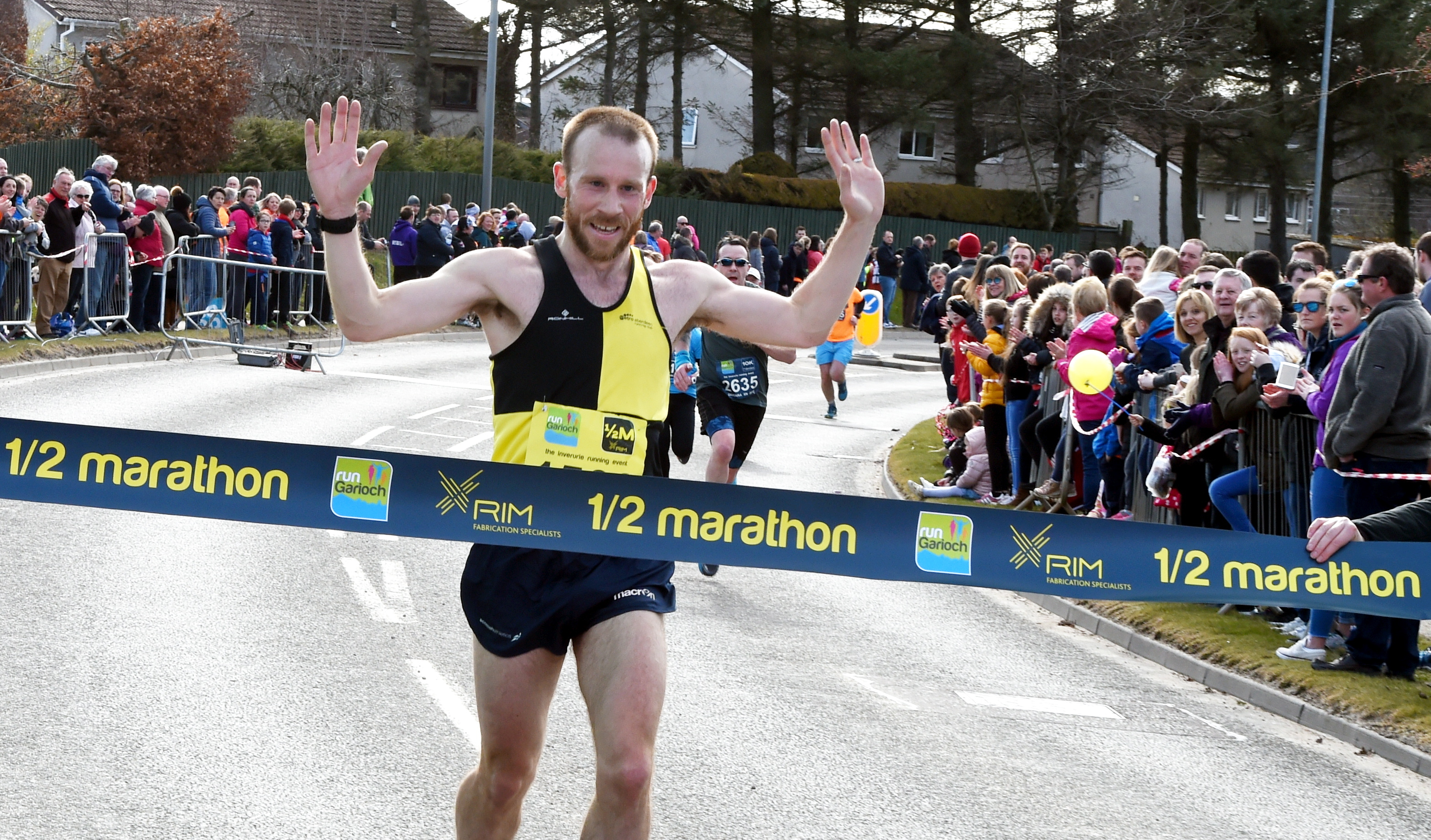 Tartan Running Shorts is the creation of GB International runner Kyle Greig (pictured) and Tom Brian