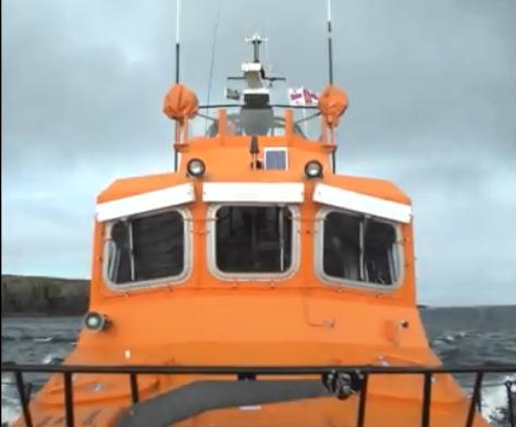 RNLI crews from Macduff were training in the area