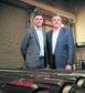 Chief executive David Stephenson and chairman Steve Kent of Deep Casing Tools