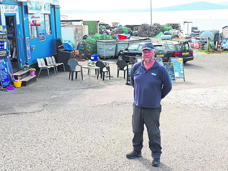 David Brown of Bella Jane boat tours.