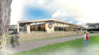 An indicative design of the new members' area at the Royal Highland Show.