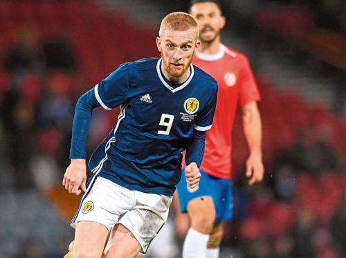 Scotland forward Oli McBurnie
