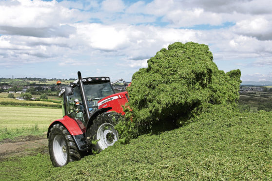 """Mr McLean told farmers to make their businesses """"future fit""""    HANDOUT PIC FROM MASSEY FERGUSON"""