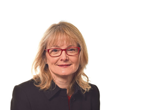 Susan Webb from NHS Grampian