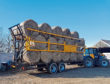 Stephen Birnie and family from Maud designed this bale trailer.