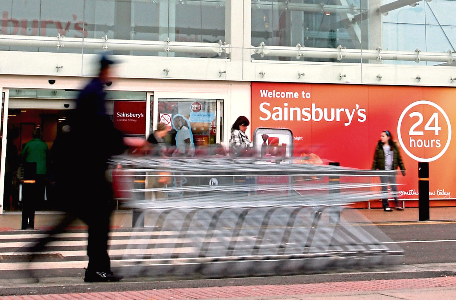 Sainsbury's says it is yet to receive a list of vulnerable people.