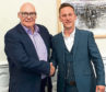 When Ian Smith, left, opted for retirement, his employee Lewis Cradock, right, chose to take on the business