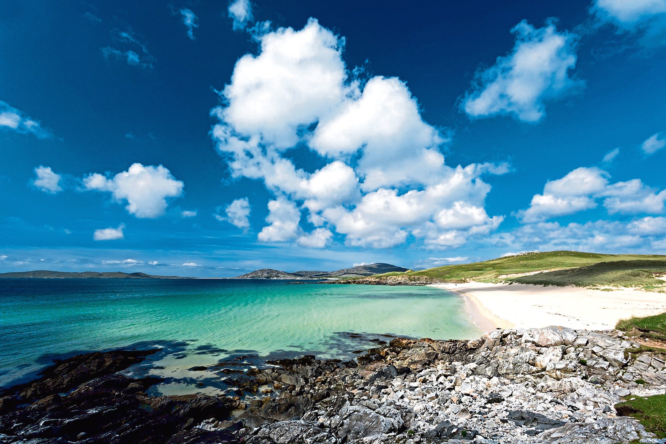 Selling island splendours such as Luskentyre Beach on Harris would be the job of whoever becomes OHT's chief executive