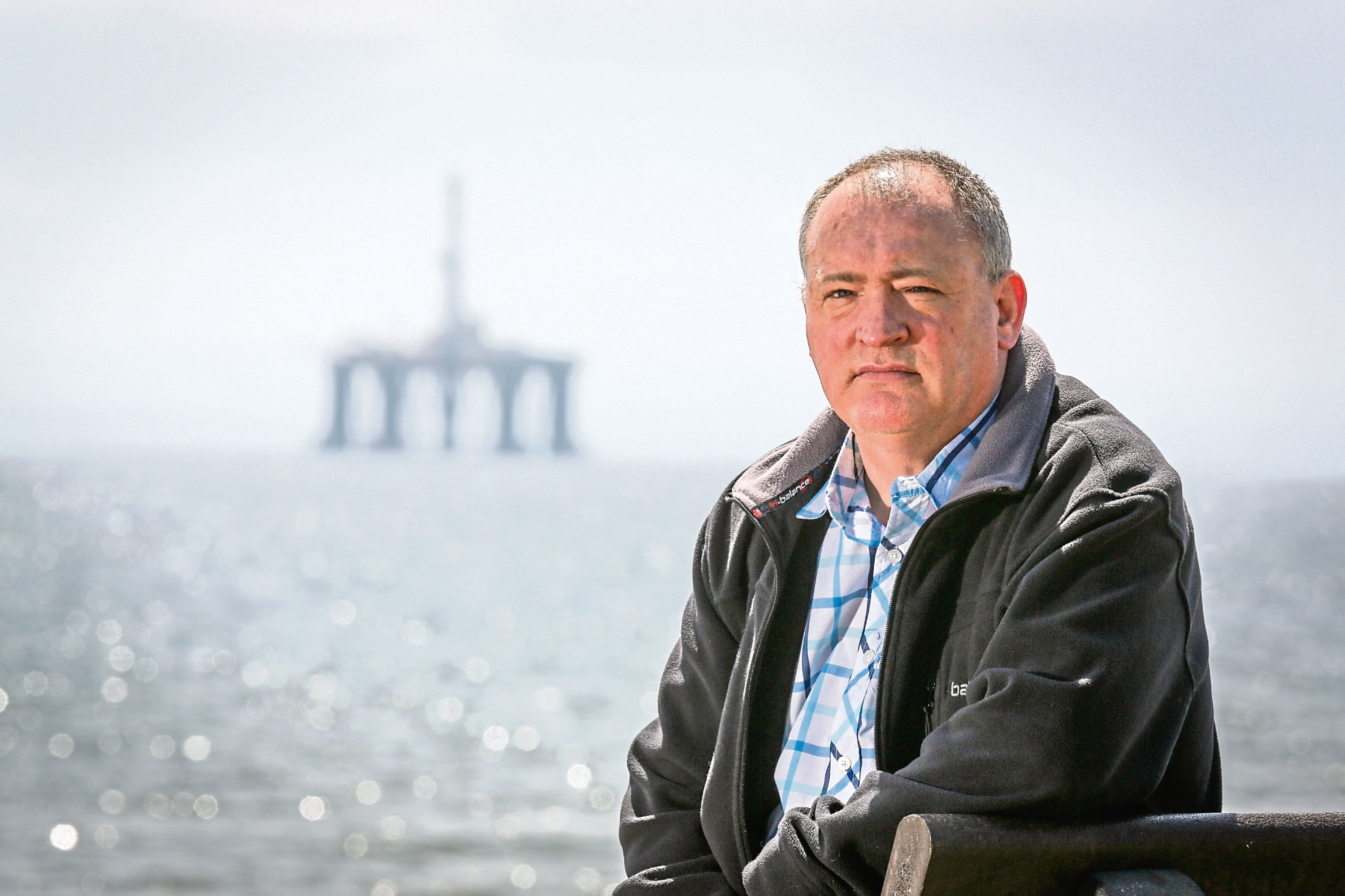 Charles Haffey was honoured for his heroics during the Piper Alpha disaster.