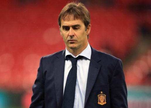 Julen Lopetegui has been sacked as Spain coach.