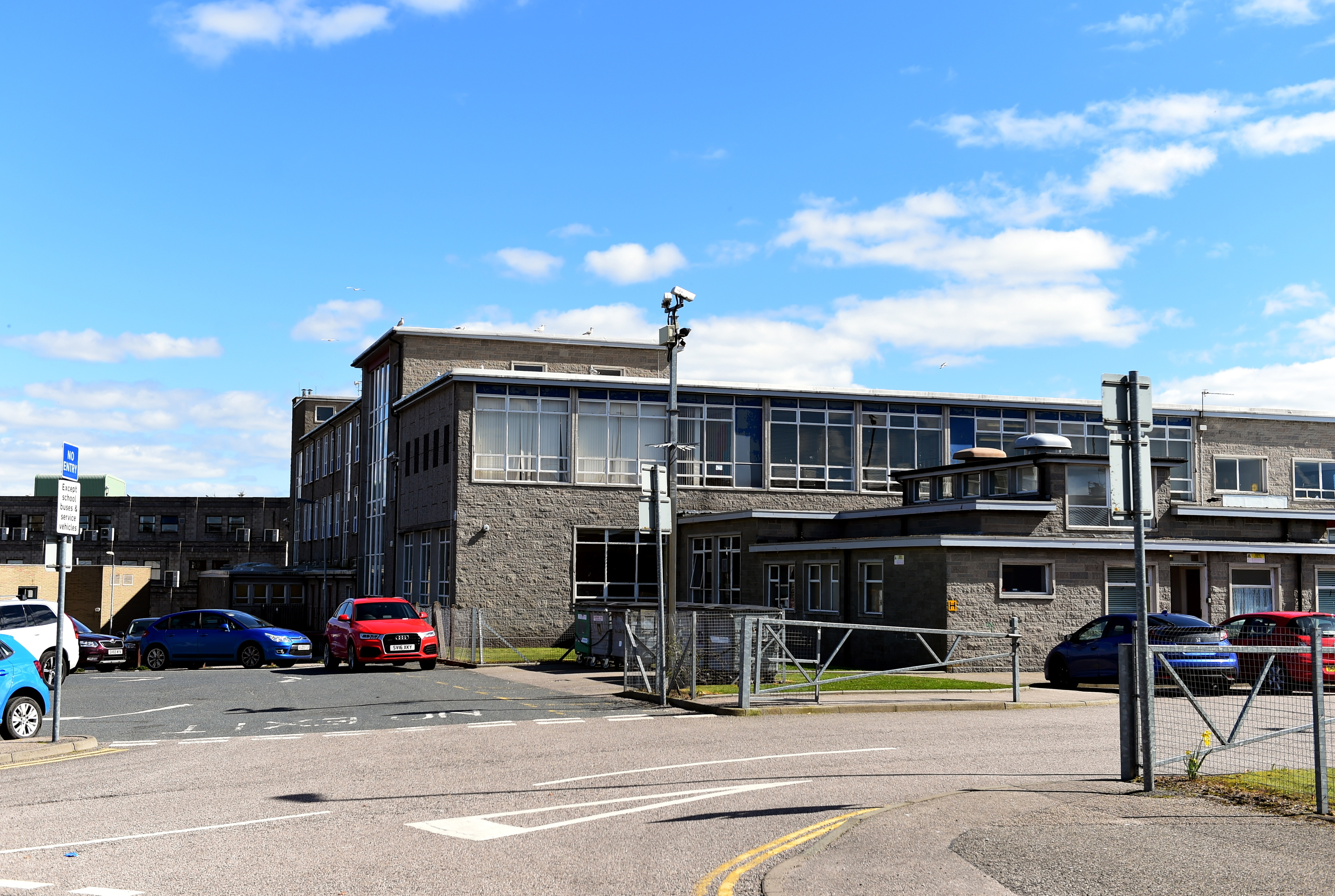 Inverurie Academy was commended for coming through a period of significant staff change in recent years