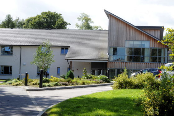 Locator of Rubislaw Park Care Home, Aberdeen.  Picture taken by EMMA SPEIRS.  Taken 28/08/2012